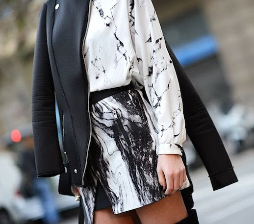 Le Fashion Blog 9 Ways To Wear Marble Print Crackle White Marble Top Black Marble Skirt Via Fashion Vibe photo Le-Fashion-Blog-9-Ways-To-Wear-Marble-Print-Crackle-Via-Fashion-Vibe.jpg