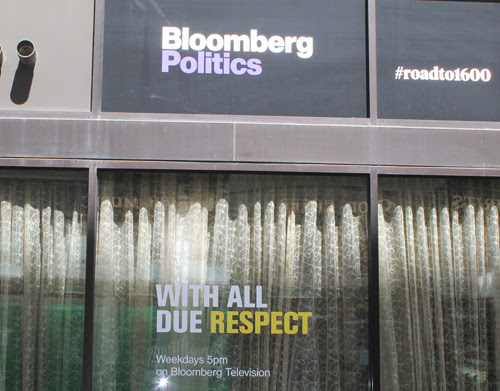 Bloomberg was also on East 4th