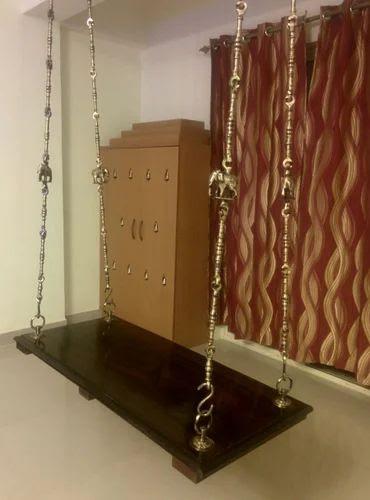 Wooden Swing  Wooden Unjal Palakkai Swings Manufacturer from Chennai