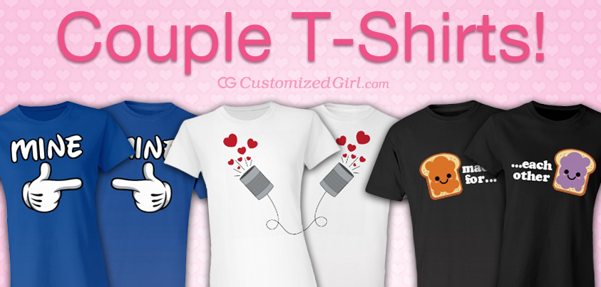 Couple Shirts Archives Customizedgirl Blog