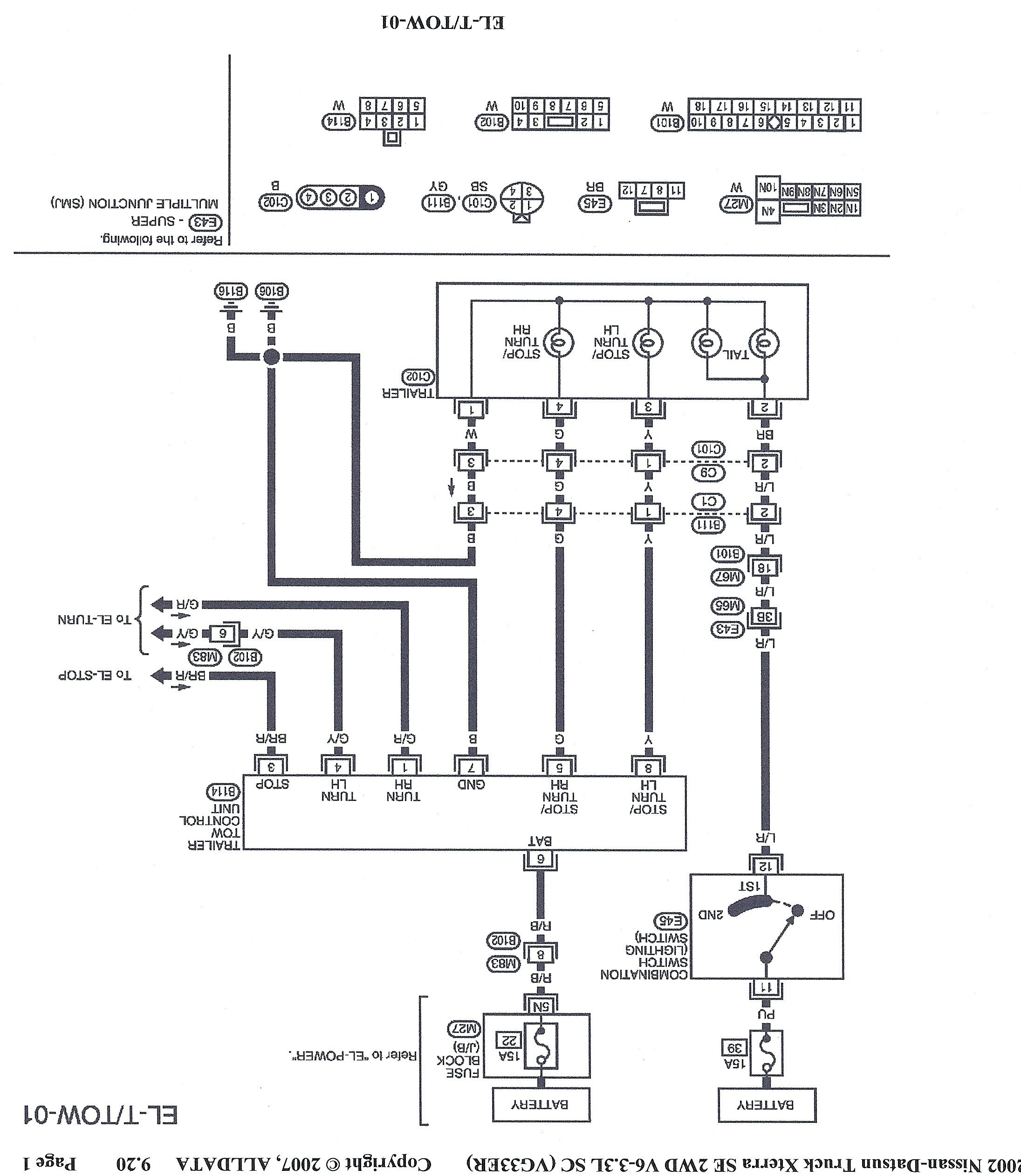 29 Nissan Xterra Wiring Diagram - Worksheet Cloud
