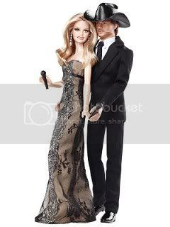 Faith Hill and Tim McGraw Barbie Dolls