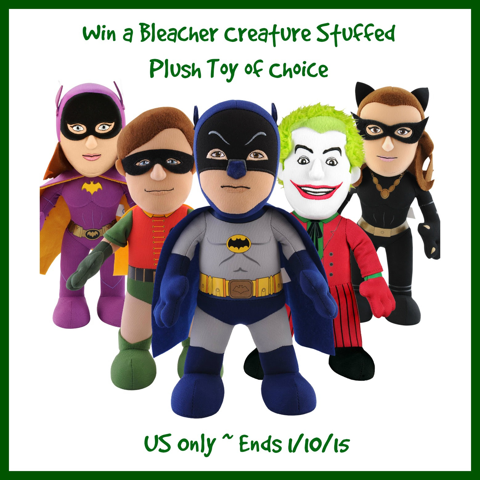 Enter the Bleacher Creature Giveaway. Ends 1/10.