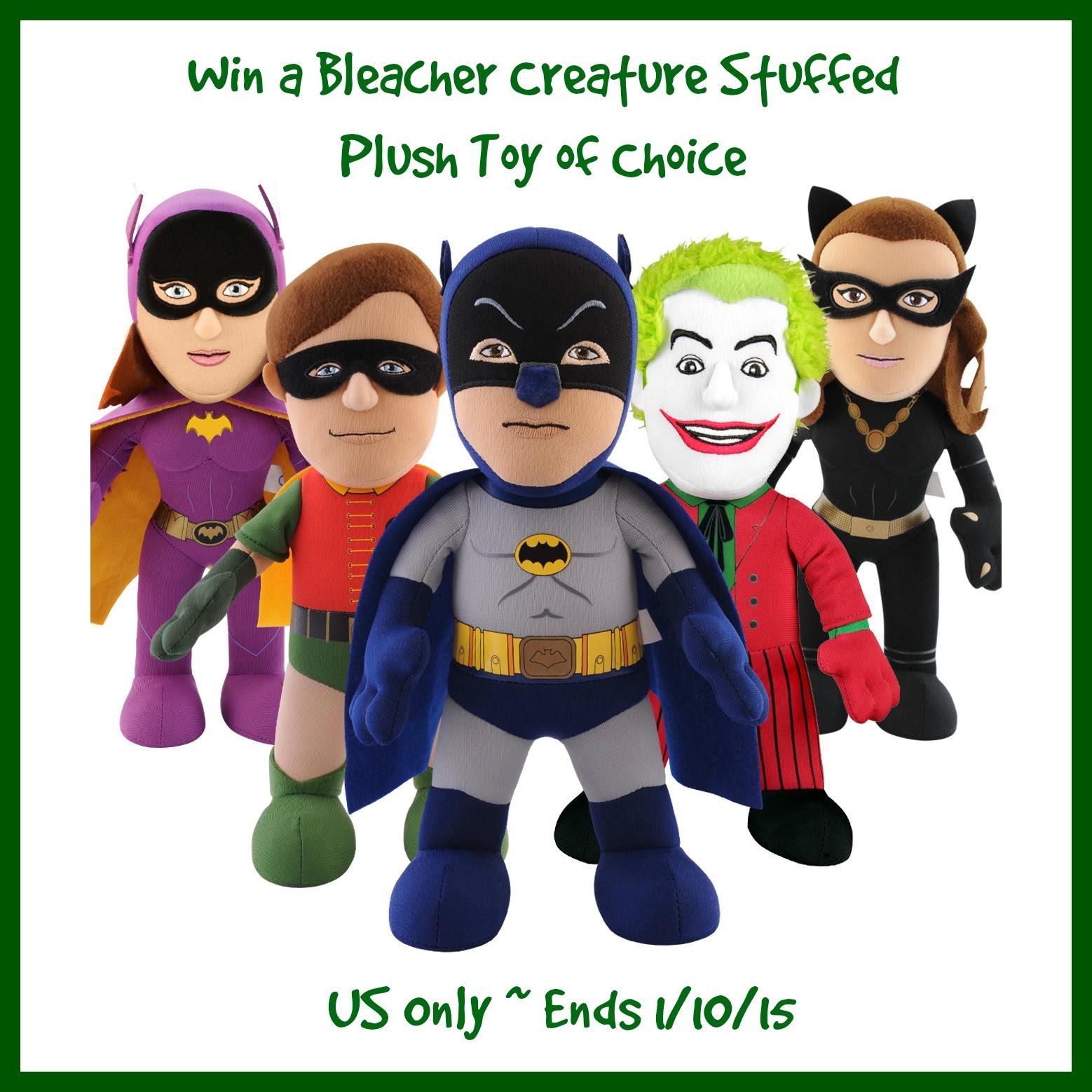 Enter the Bleacher Creature Giveaway. Ends 1/10.