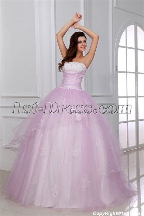 Romantic Light Pink Ball Gown Quinceanera Dress for Mexico