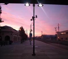 Berkeley train station