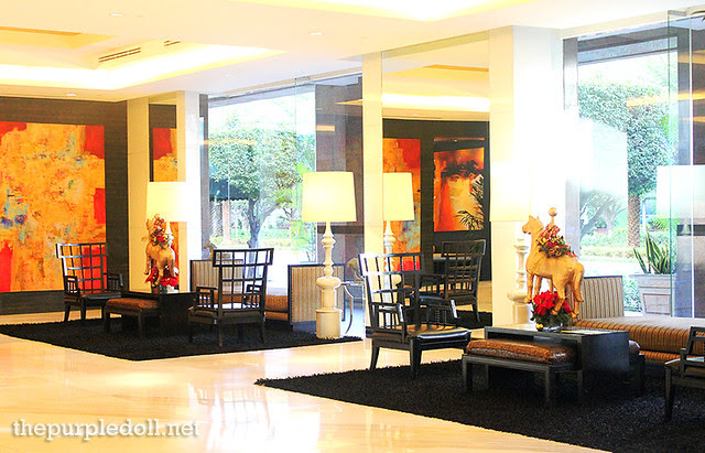 Bellevue Manila Tower Wing Lobby