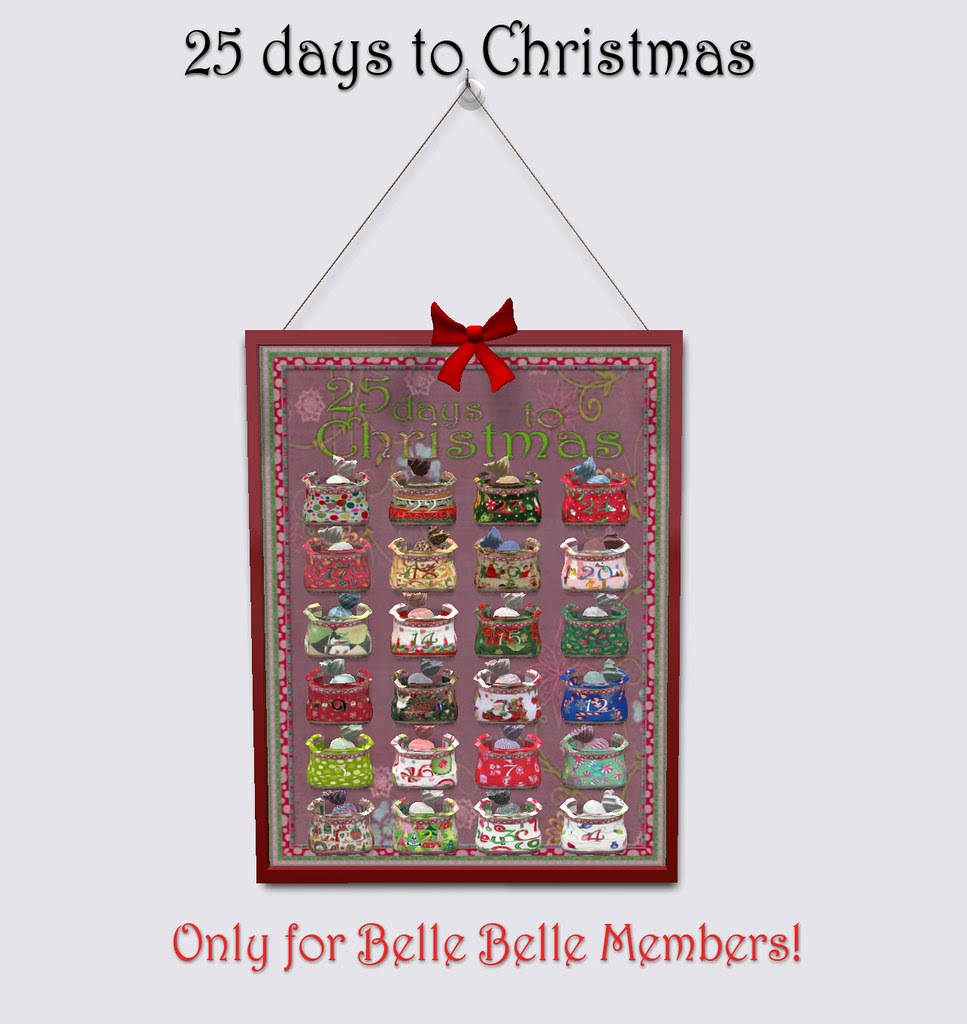 BELLE BELLE - 25 DAYS TO CHRISTMAS