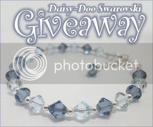 Swarovski Crystal Bracelet by Daisy-Doo