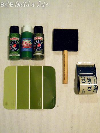 painted rug craft fail @ BandBBuildALife.com