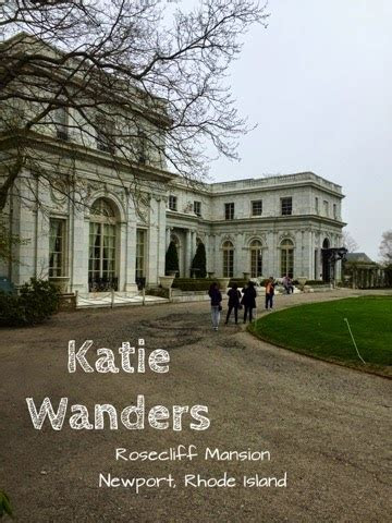 Katie Wanders : Rosecliff Mansion, Newport, Rhode Island