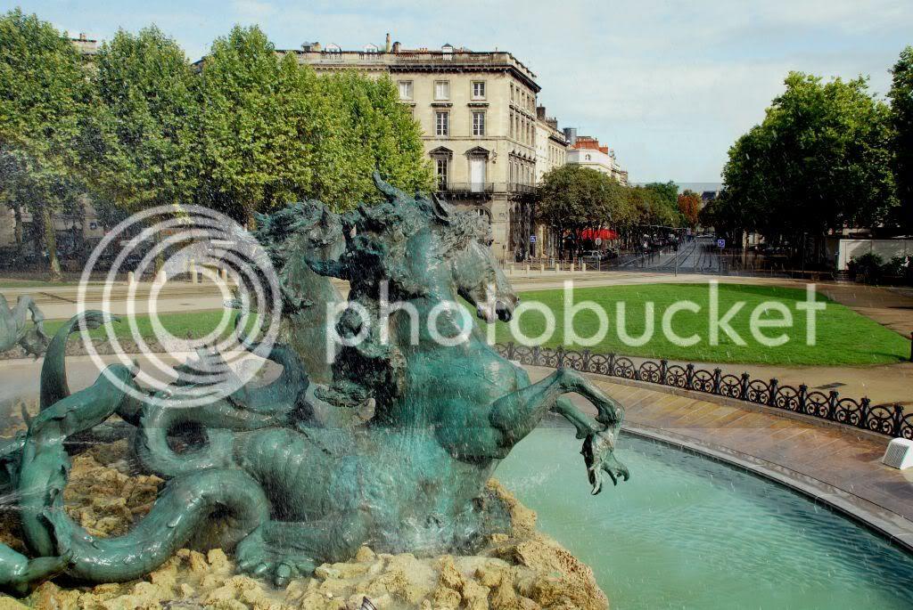 Burdeos. Monumentos a los girondinos
