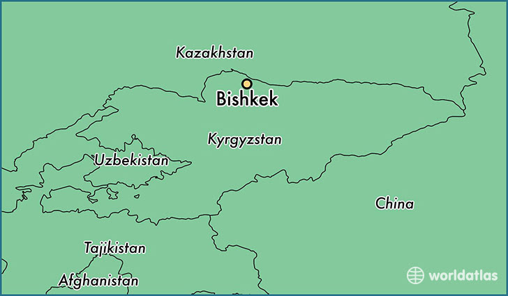13101 bishkek locator map