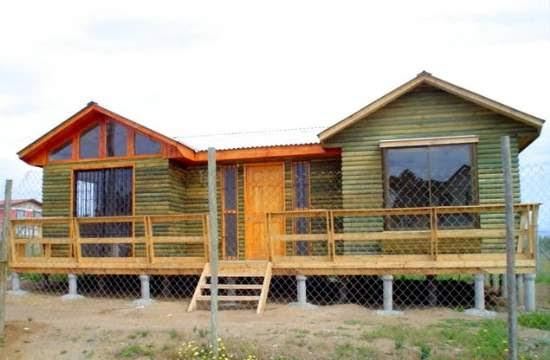 Casas de madera prefabricadas casas urbina llave en mano - Casas prefabricadas llave en mano ...