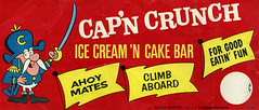 Cap'n Crunch Ice Cream Sign