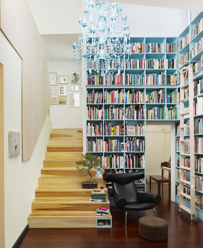 Contemporary Home with a Green Windows - InteriorZine