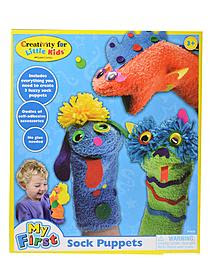 Make Your Own Sock Puppets each