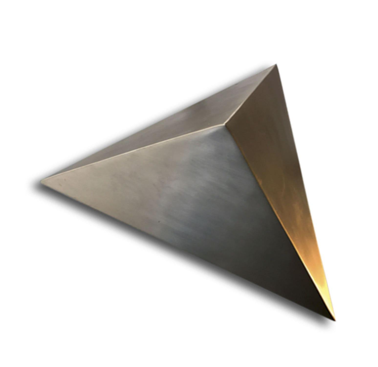 Applique Murale Contemporaine En Aluminium En Laiton En Bronze