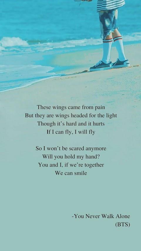 You Never Walk Alone Lyrics Bts