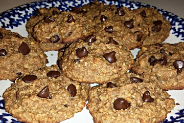Easiest Way to Make Super Quick Homemade Healthy Peanut Butter Oatmeal Cookies