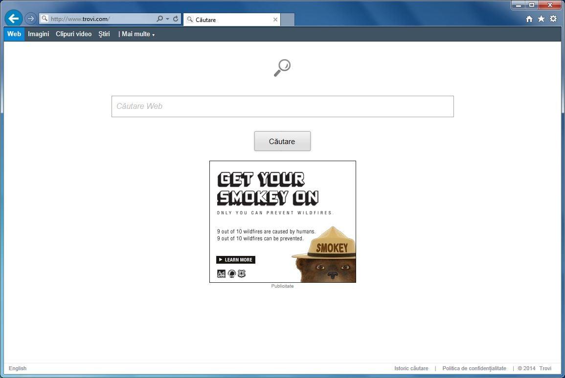 [Image: Trovi.com virus]