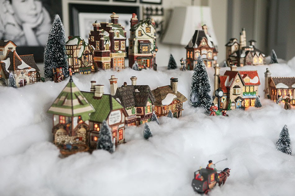 Christmas Village Decorations 30 Beautiful Diy Ideas A Diy Projects