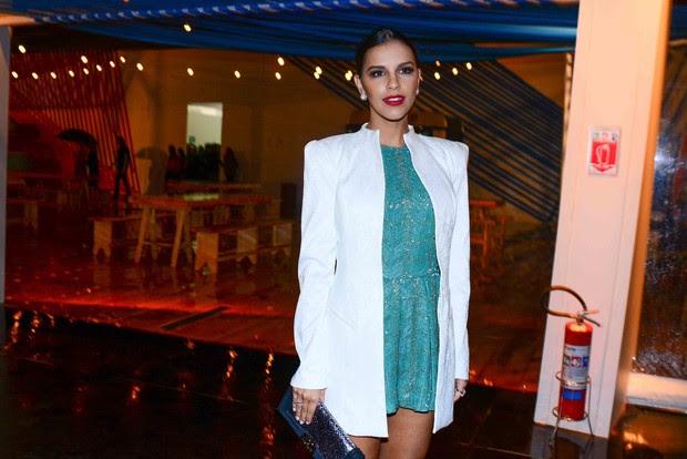 Mariana Rios no SPFW (Foto: Leo Franco e Wesley Costa / AgNews)