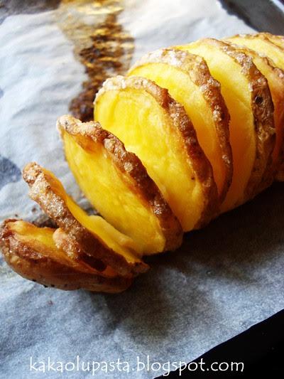 Garlic Hasselback Potato _6