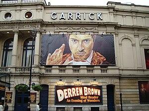 Derren Brown at the Garrick Theatre, June 2008