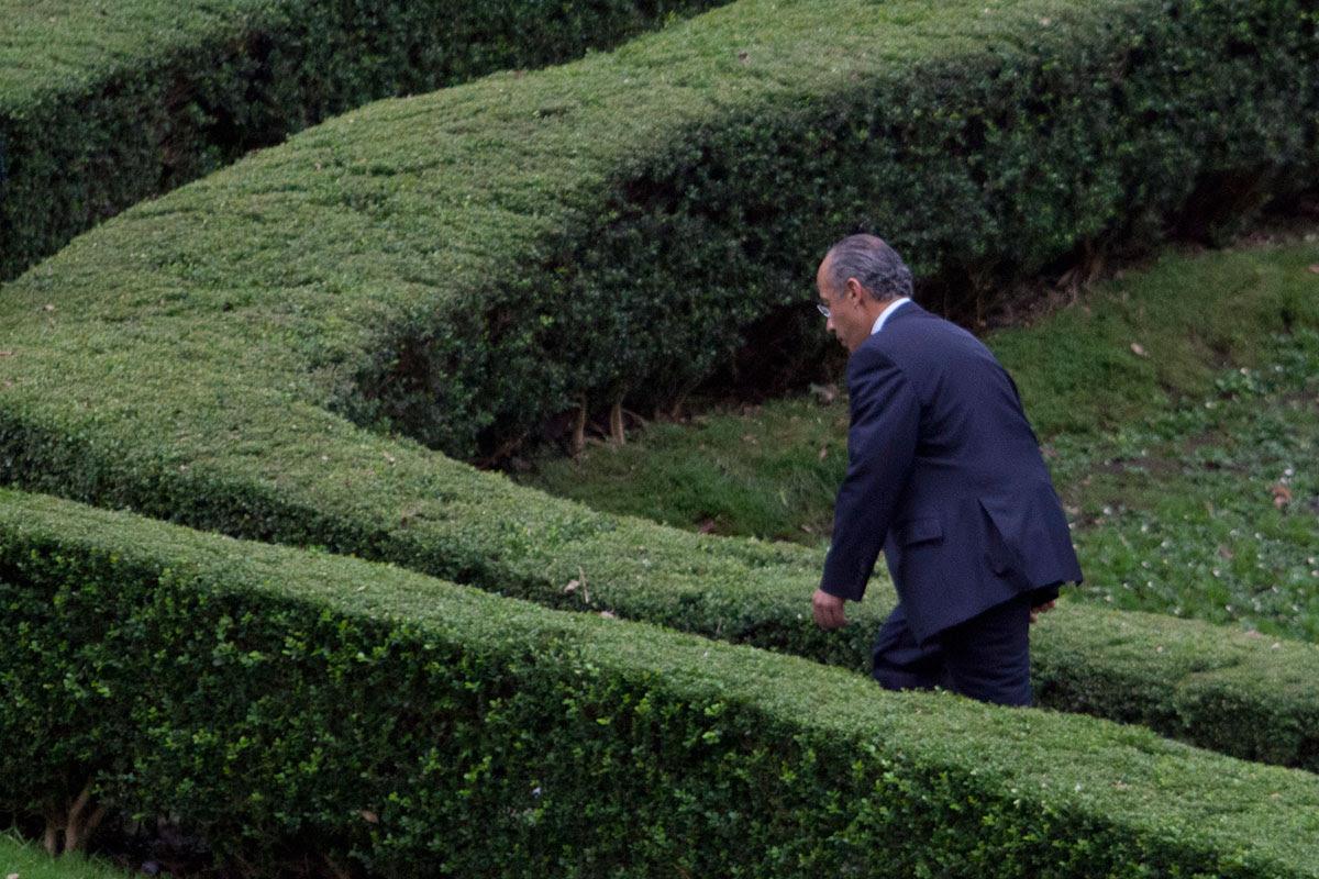 Felipe Calderón, extitular del Ejecutivo. Foto: Miguel Dimayuga