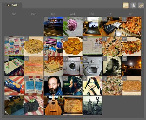 My ShutterCal - October 2013
