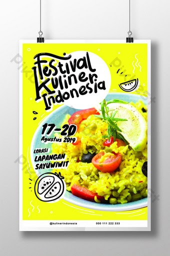 Contoh Spanduk Bazar Makanan - desain spanduk kreatif