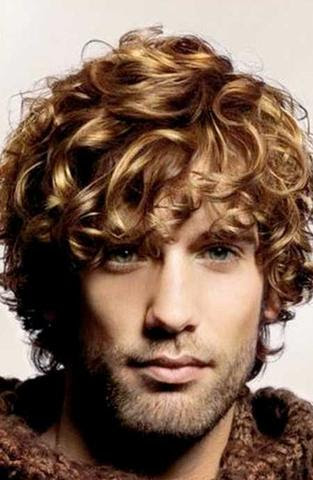 Männer Frisuren Locken Mittellang Schnell Lange Haare