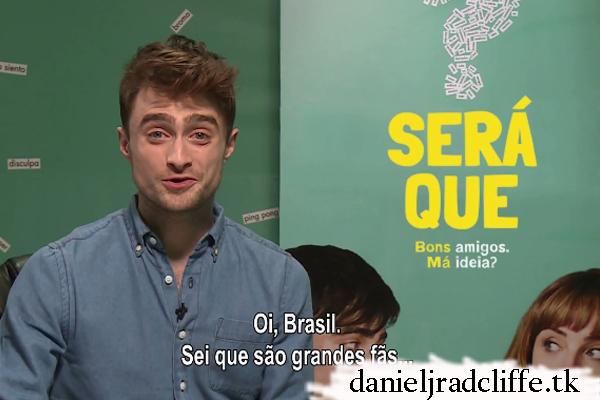 Daniel's message to Brazil