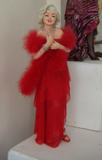 Doll of Marylin Monroe, made by Natalia Basarab from Ternopil, West Ukraine