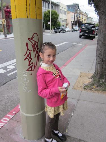 Julia in San Francisco, Waiting for the Muni