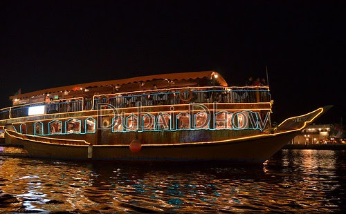 Place to visit in Dubai: Dhow Cruise Dinner Inwards Dubai