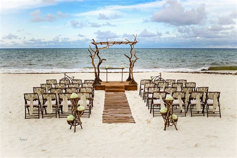 Mexico Beach Wedding Ideas from Riviera Maya   The