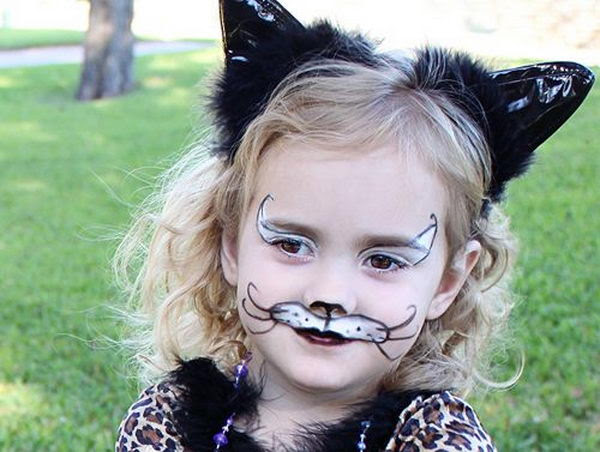 Kitty Cat Face Paint Easy Face Paint Ideas