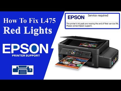 Epson L565 Resetter || A Printer's ink pad is at the end of