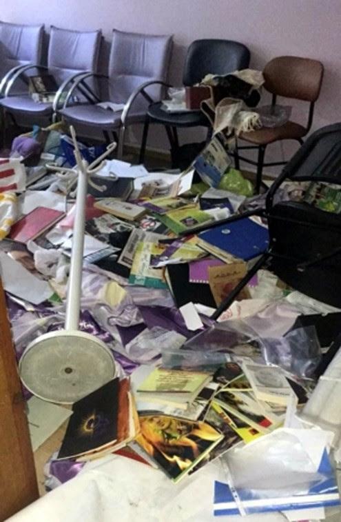 Sede do HDP assaltada pela polícia