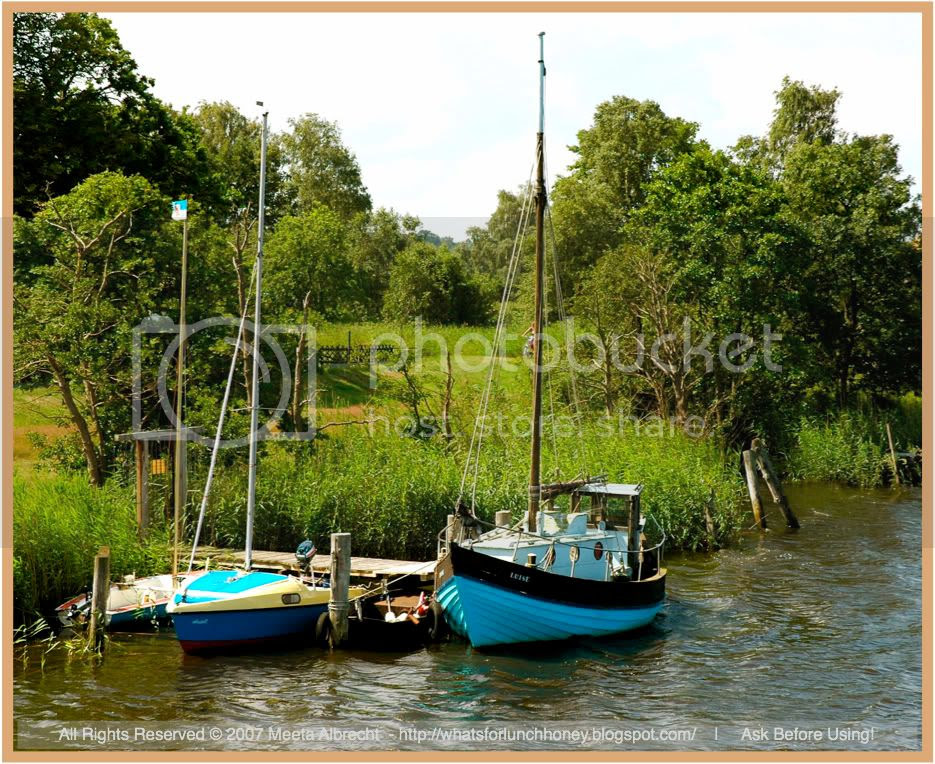 Prerowstrom Boats (02) by Meeta Albrecht