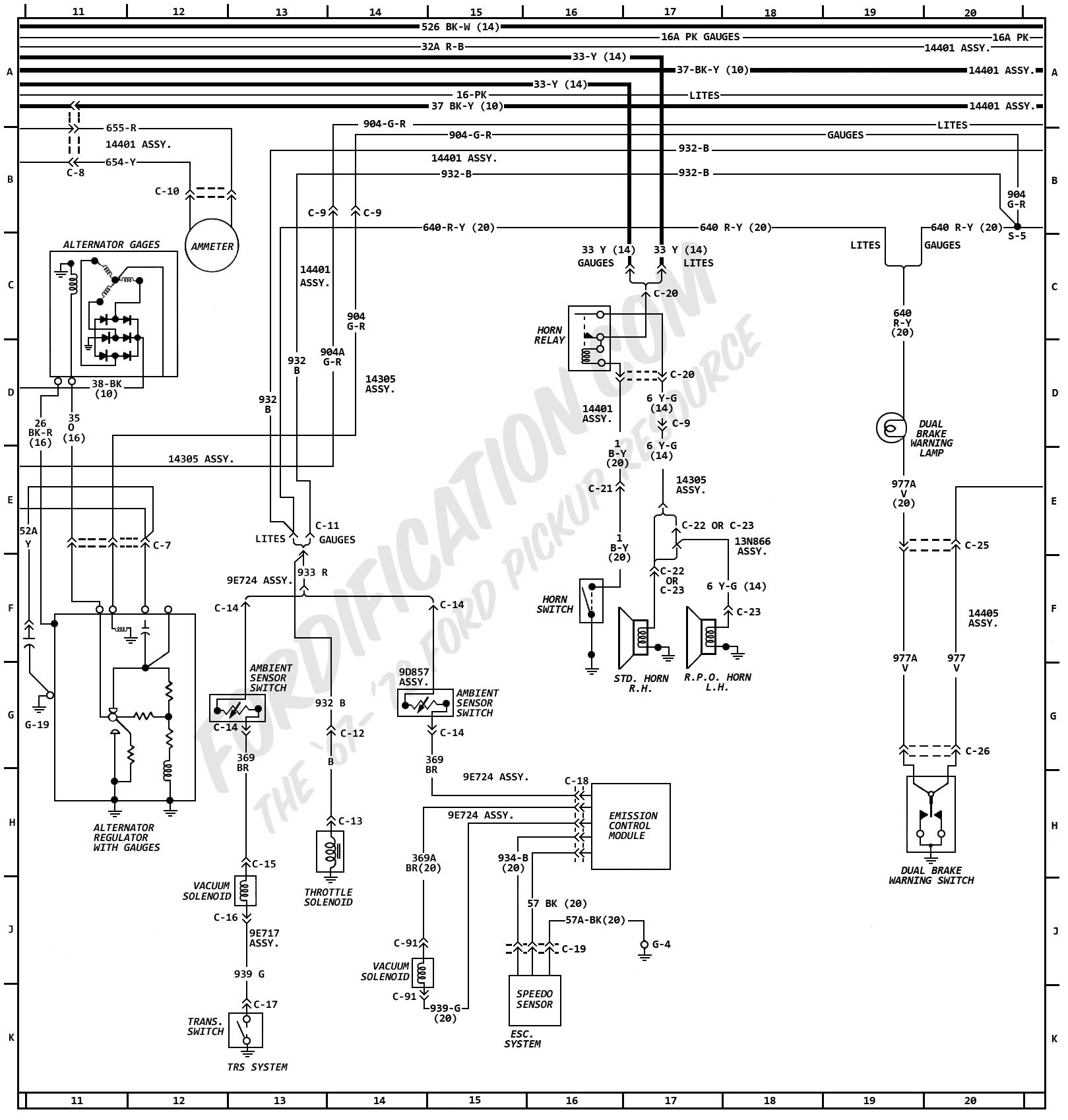 1972 Ford Truck Wiring Diagrams - FORDification.com