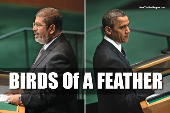 Obama and Morsy birds of a feather