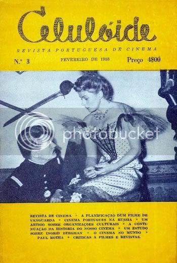 Capa do nº 3 da revista Celulóide, de fevereiro de 1958 * Image hosted by Photobucket.com