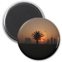 middle east sunrise no2 magnet