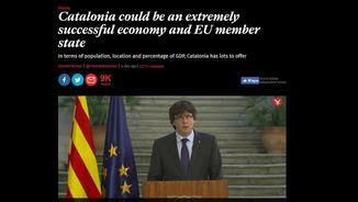 """""""The Independent"""" destaca """"l'economia exitosa"""" de Catalunya"""