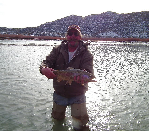 karl moffatt and a san juan trout