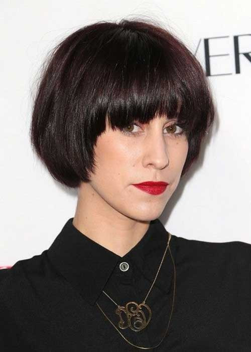 Top Image Of Bowl Cut Hairstyles Alice Smith