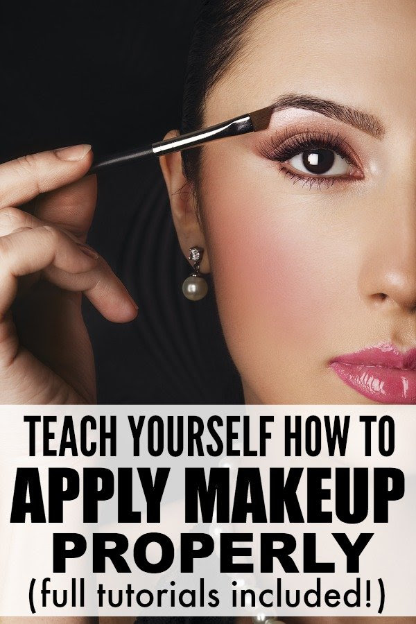 How to apply eyeshadow correctly a stick